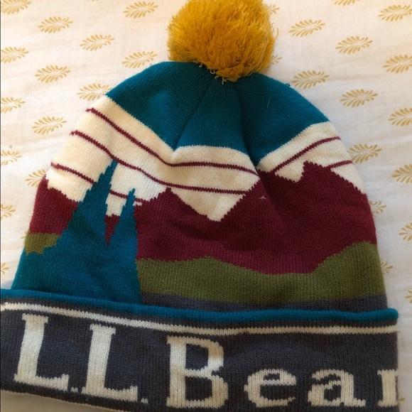 58acb3ef23c L.L. Bean Accessories - LL Bean Pom Pom hat